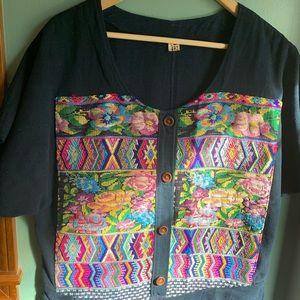 Dresses & Skirts - Handmade Guatemalan Denim Dress